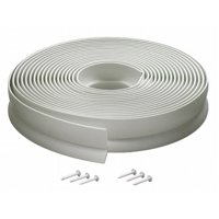 30 ft. White Vinyl Garage Door Seal For Top & Sides