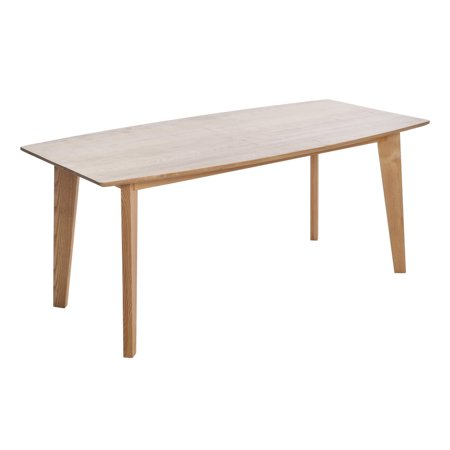 Cassius Ash Wood Dining Table, Natural