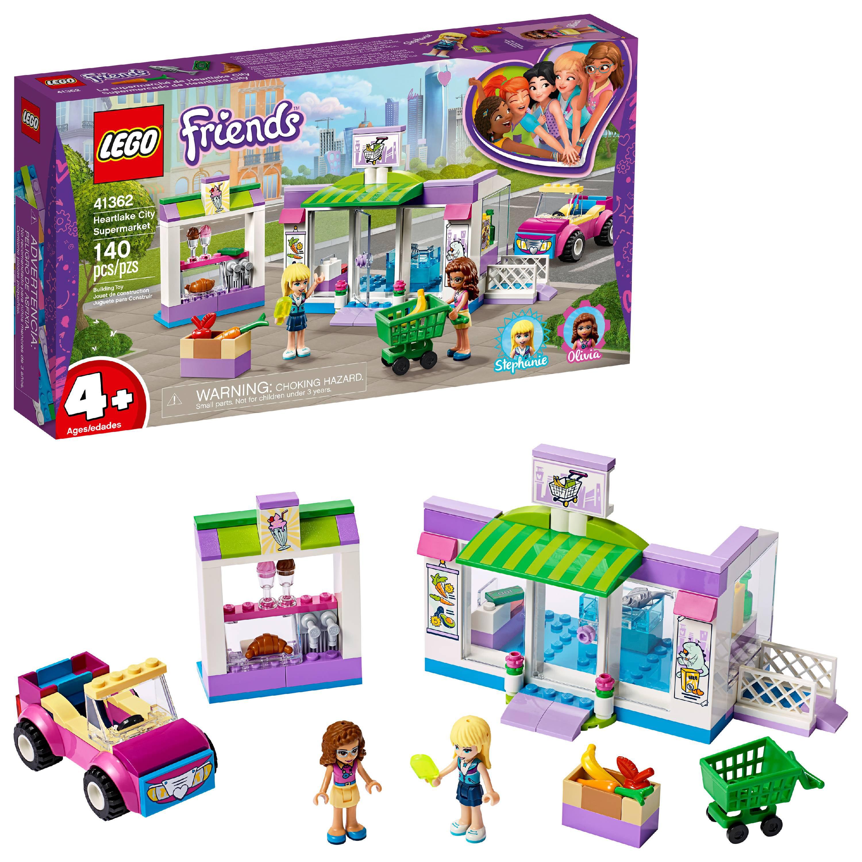 LEGO Friends Heartlake City Supermarket Building Set, Mini Dolls, Supermarket Playset 41362
