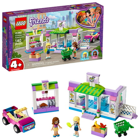 LEGO Friends Heartlake City Supermarket Building Set, Mini Dolls, Supermarket Playset 41362