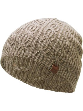 7b40bfa04c825 Product Image Khaki Soft Winter Cable Knit Beanie Short Skull Cap Ski Warm  Hat