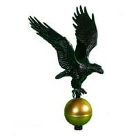 Black Eagle Flagpole Finial