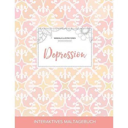 Maltagebuch Fur Erwachsene: Depression (Mandala Illustrationen, Elegantes Pastell) - image 1 of 1