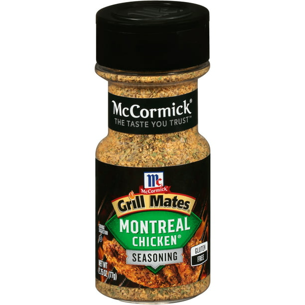 McCormick Grill Mates Montreal Chicken Seasoning, 2.75 oz