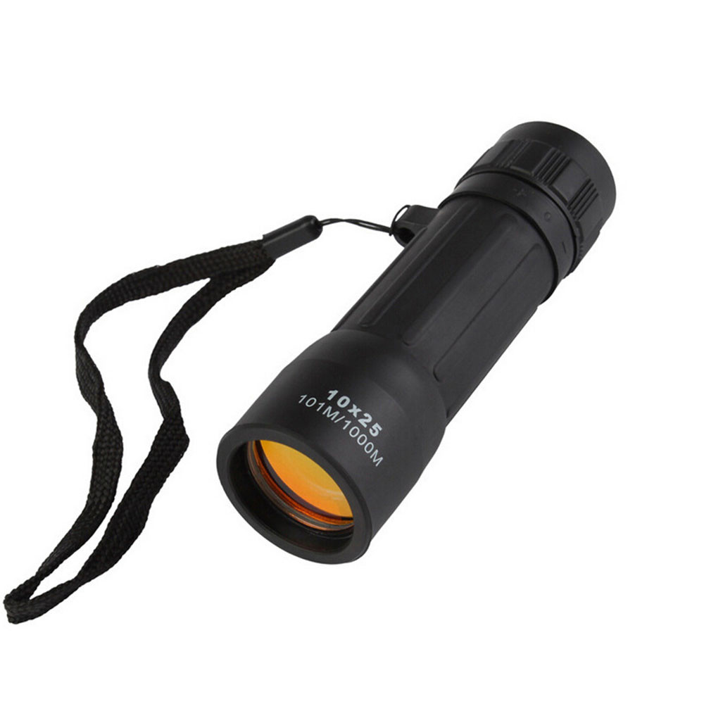 Super High Power 10x25 Portable HD OPTICS BAK4 Night Vision Monocular Telescope