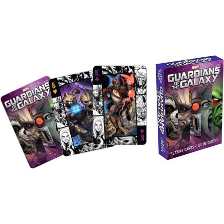 Guardians of the Galaxy Comics Playing Cards,  Action Movies by NMR Calendars ()