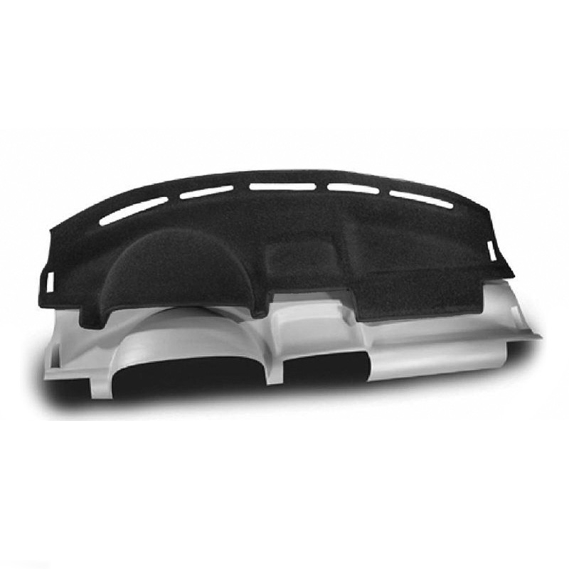 CUSTOM MOLDED CARPET DASHBOARD COVERS CHARCOAL FOR BUICK 2