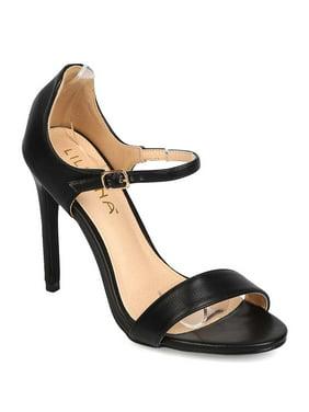 cf2de7da47 Product Image New Women Liliana Golden-52 Leatherette Open Toe Single Band  Stiletto Sandal