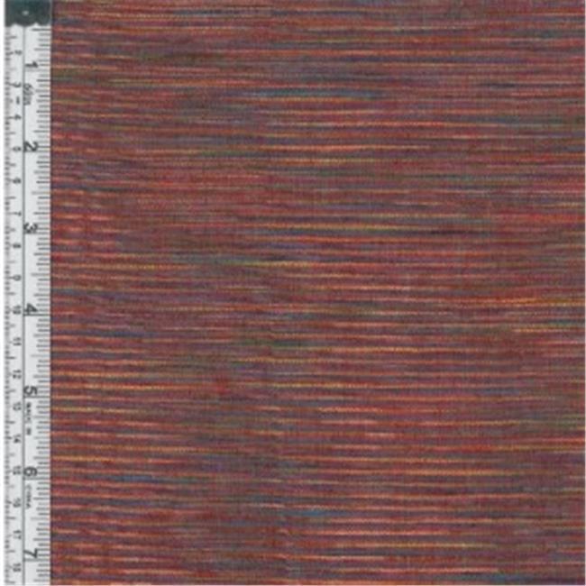 Textile Creations WR-004 Winding Ridge Fabric, Red Ikat With Slub, 15 yd.