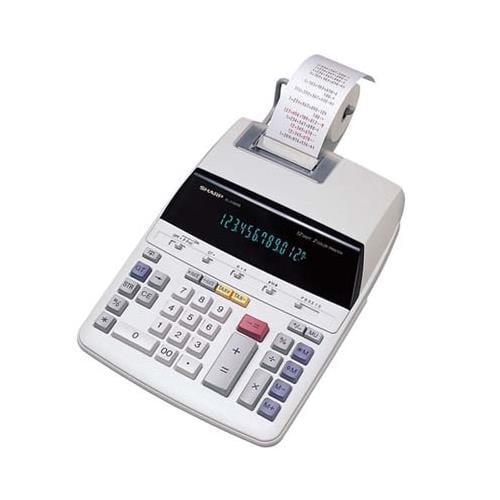Sharp EL1801V 12-Digit Calculator - 12 Character(s) - Flu...