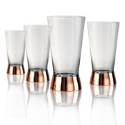 Artland Coppertino Highball Glass - Set of 4