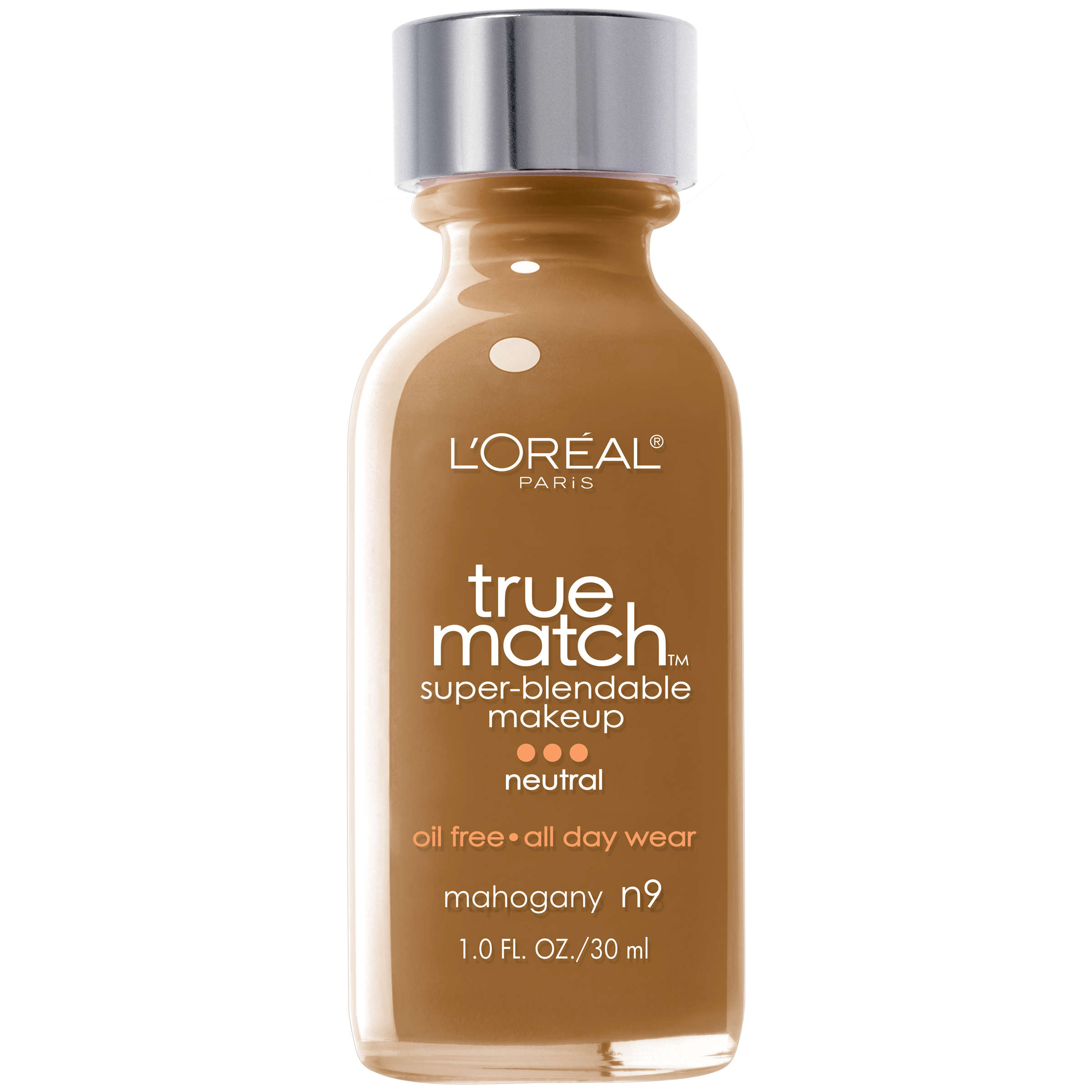 Loreal Paris True Match Super Blendable Foundation N4 Buff Beige Make Over Ultra Cover Liquid Matt 33 Ml