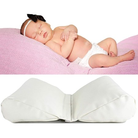 Newborn Photography Butterfly Pillow - 2 Set Posing Props for Infant Boy and Girl Photoshoot - Wedges to Support Position - Ebook with Photo Shoot Tips - Halloween Photo Shoot Ideas For Infants