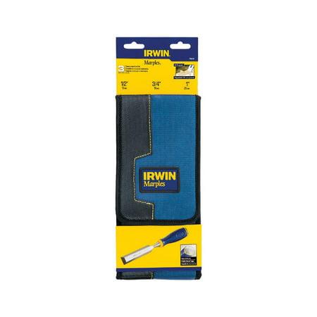 Irwin Marples 1 in. W x 4 in. L Hardened Steel Chisel Set Blue 3 pk