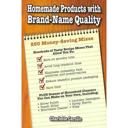 Homemade products with brand name quality 250 money for Homemade products to save money