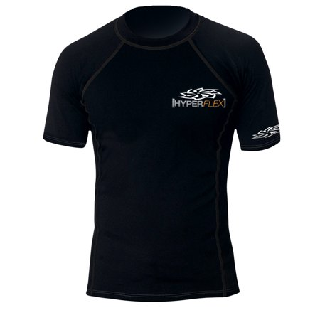 Men's HyperFlex Poly Fleece S/S Rash Guard