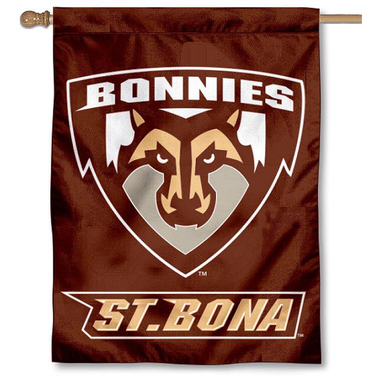 "St. Bonaventure Bonnies 30"" x 40"" Two Sided House Flag"