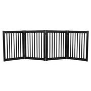 Dynamic Accents 32 in. 4 Panel Freestanding Gate