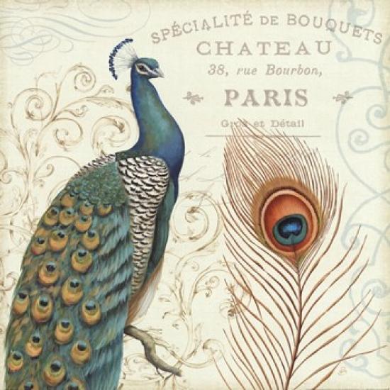 Majestic Beauty I Poster Print by Daphne Brissonnet (18 x 18)