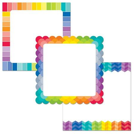 Rainbow Chart Cards 10