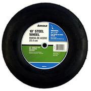 Arnold 10275-B 10 x 2.75 in. Steel Wheel - .62 in. Diameter Centered Hub