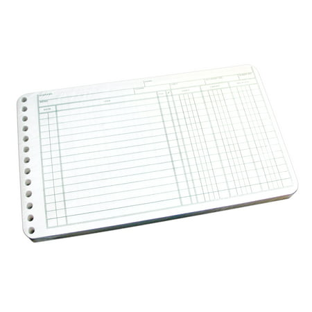 Wilson Jones Ring Ledger Sheet, 5