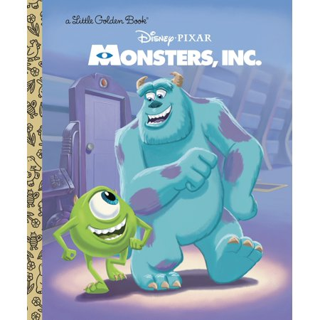 Monsters, Inc. Little Golden Book (Disney/Pixar Monsters, Inc.) (Hardcover)