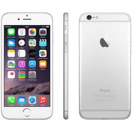 Refurbished Apple iPhone 6 16GB, Silver - Unlocked (Iphone 6 Best Price Canada)