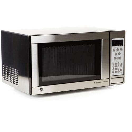 Ge 1 1 Cu Ft Capacity Countertop Microwave Oven