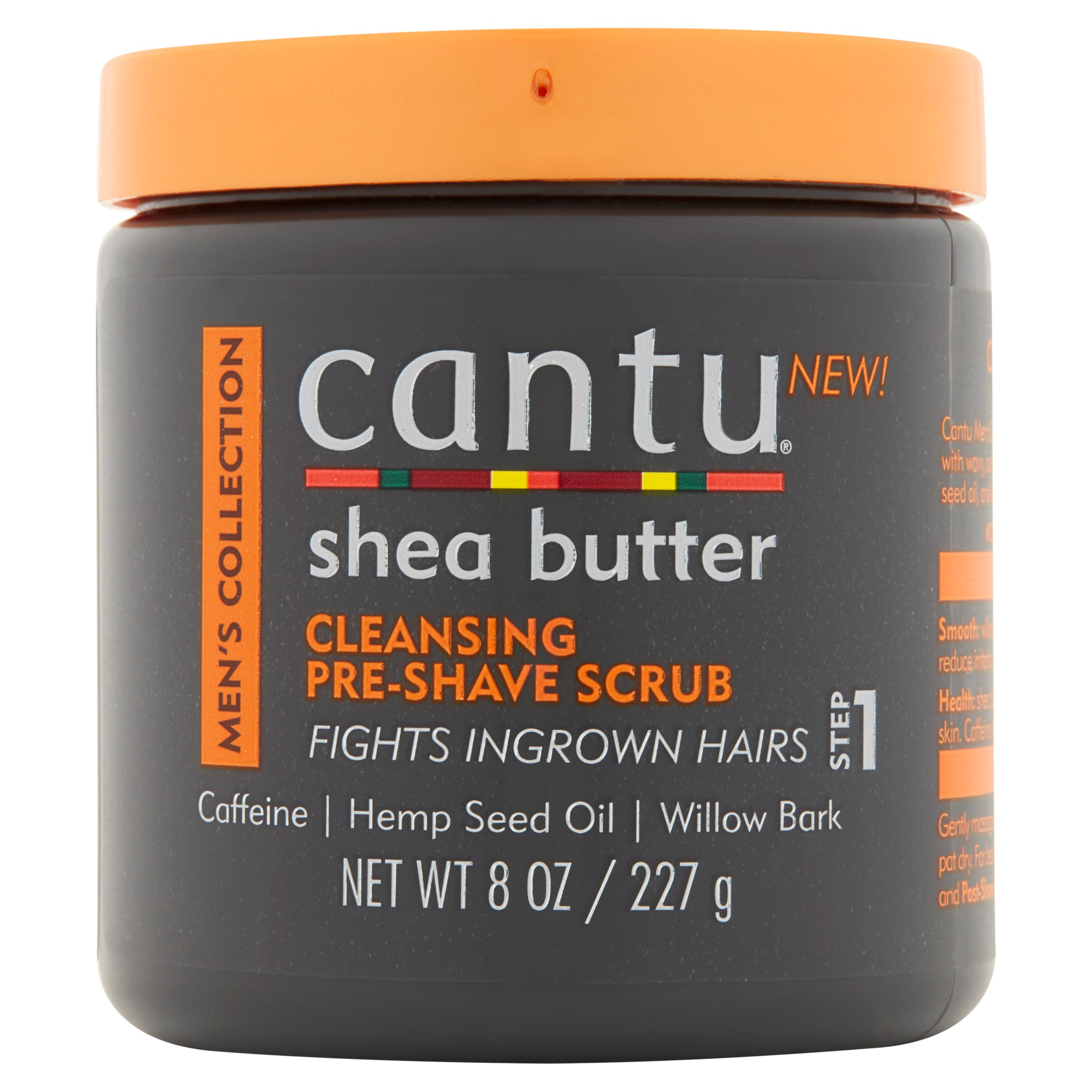 Cantu Men's Collection Cleansing Pre-Shave Scrub, 8 oz