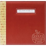 "MBI School Memories Scrapbook , 12"" x 12"""