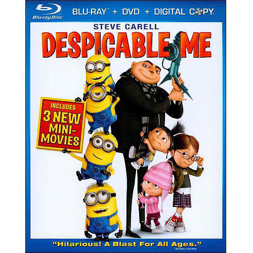 Despicable Me Despicable Me Blu-Ray