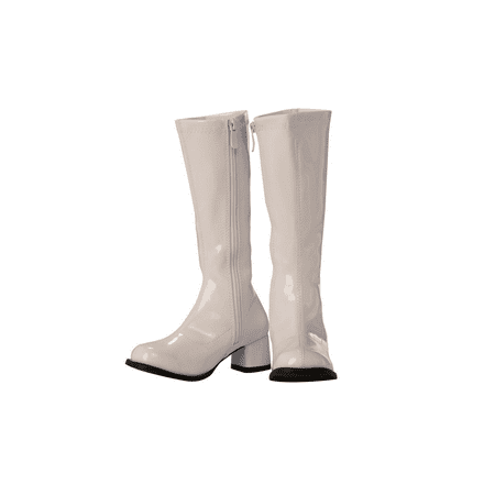 Child GoGo Boot White Halloween Costume Accessory - Costume White Boots