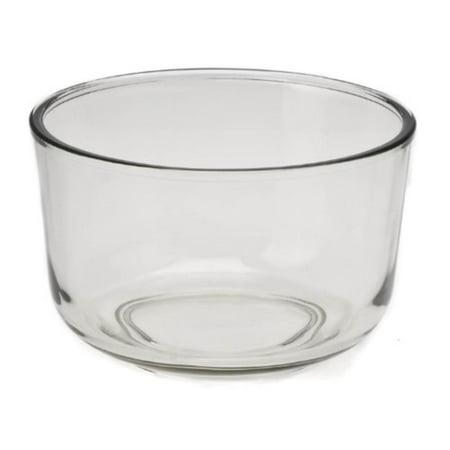115969-001 Glass Bowl 4 Quart, 4-quart capacity glass mixing bowl By Sunbeam