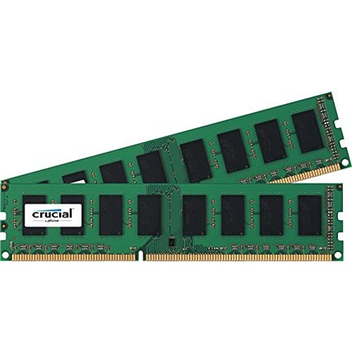 Crucial 16GB (2x8GB) DDR3L 1600 MHz 1.5V Unbuffered 240-pin DIMM Memory Module