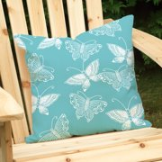 Checkerboard, Ltd Flutter  Outdoor Throw Pillow