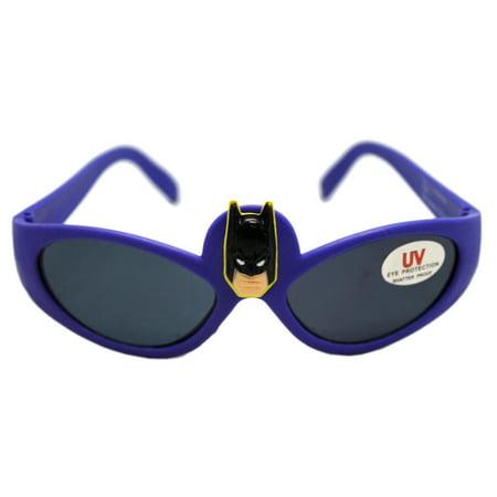 6bd6743a0a Batman - DC Comics Batman Violet Frame 3D Character Kids Sunglasses -  Walmart.com