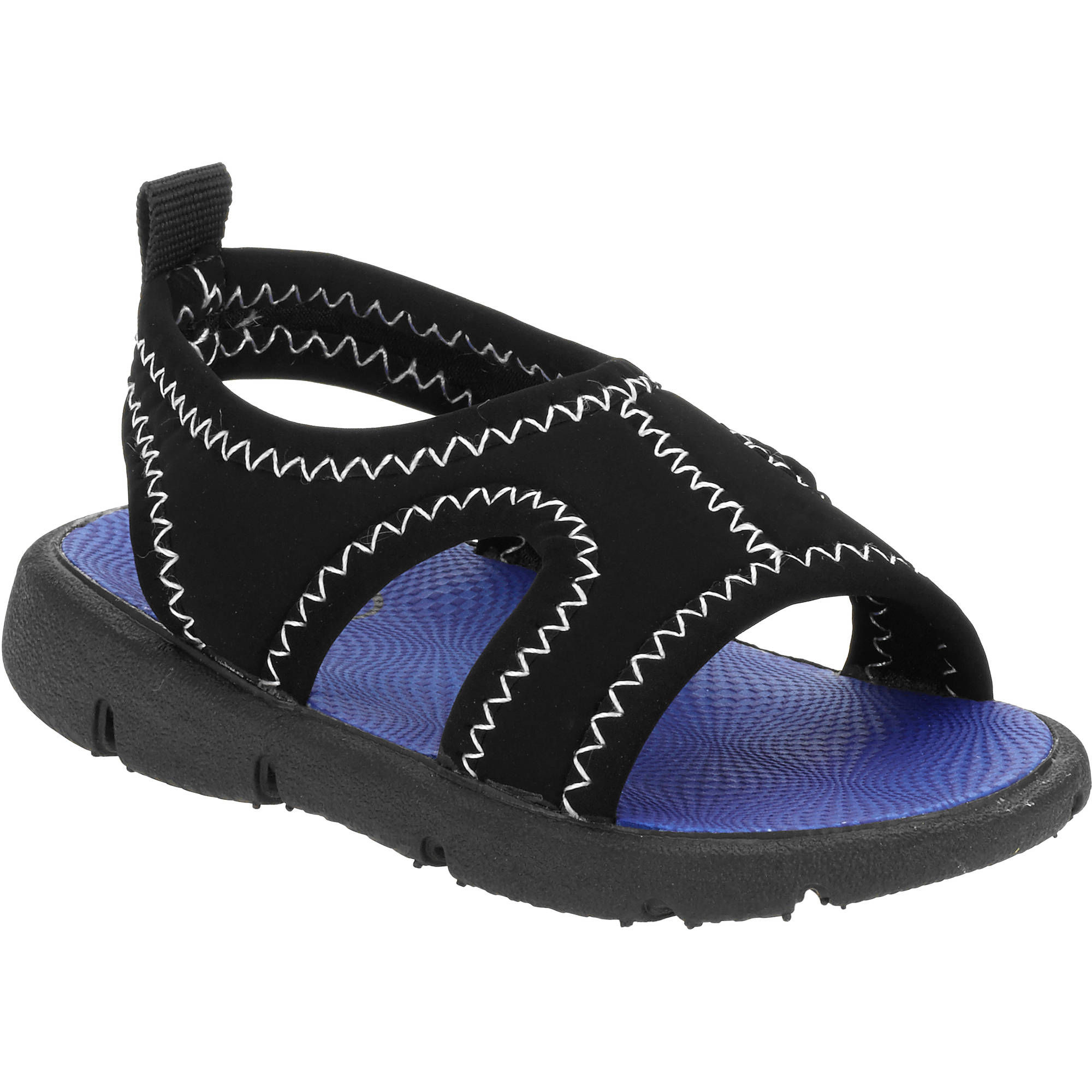 Youth black sandals