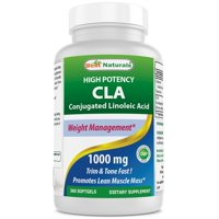 Best Naturals CLA  Conjugated Linoleic Acid 1000 mg 360 Softgels