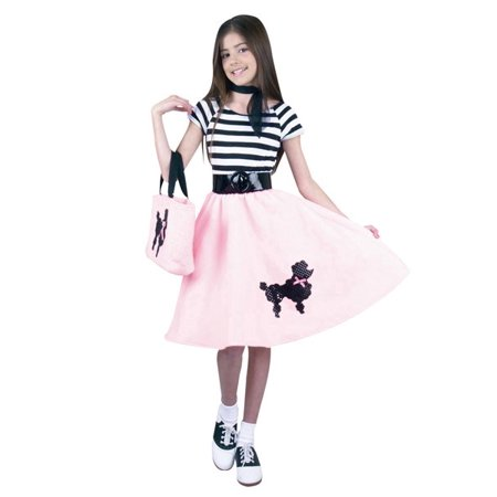 Baby Poodle Skirt Halloween Costume (Poodle Skirt Child Costume)