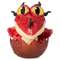 DreamWorks Dragons, Baby Hookfang 3-inch Plush, Cute Collectible Plush Dragon in Egg, for Kids Aged 4 and Up