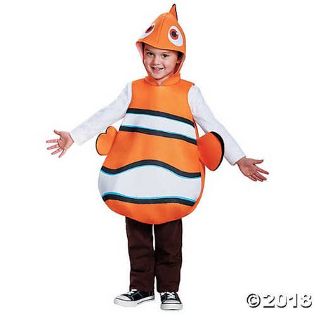Nemo Classic Finding Dory Disney/Pixar Costume, One Size Child