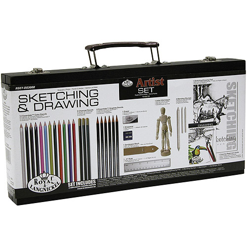 Artist Set For Beginners, Sketching & Drawing