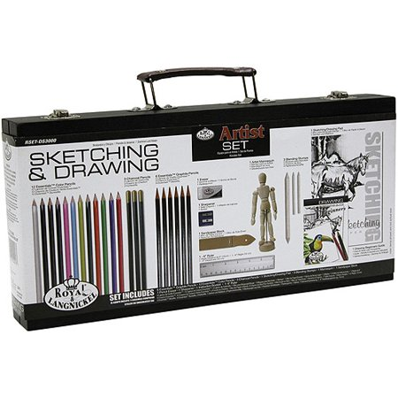 Artist Set For Beginners, Sketching & Drawing by