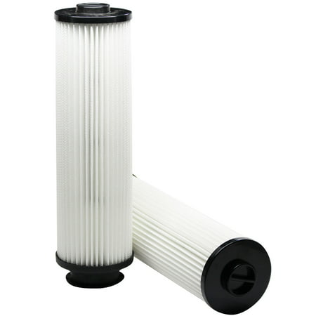 40140201 Hepa Filter Replacement - 2-Pack Replacement Hoover EmPower TurboPower Bagless Upright U5268970 Vacuum HEPA Cartridge Filter  - Compatible Hoover 40140201, Type 201 HEPA Filter