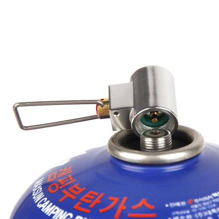 Canister Refill Shifter Flat Gas Tank Gas Shifter Adapter Extra Canister Valve Adapter Camp Gas Convert