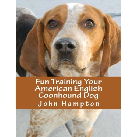 Fun Training Your American English Coonhound Dog - eBook American English Coonhound Dog