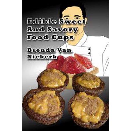 Edible Sweet And Savory Food Cups - - Halloween Savory Party Food