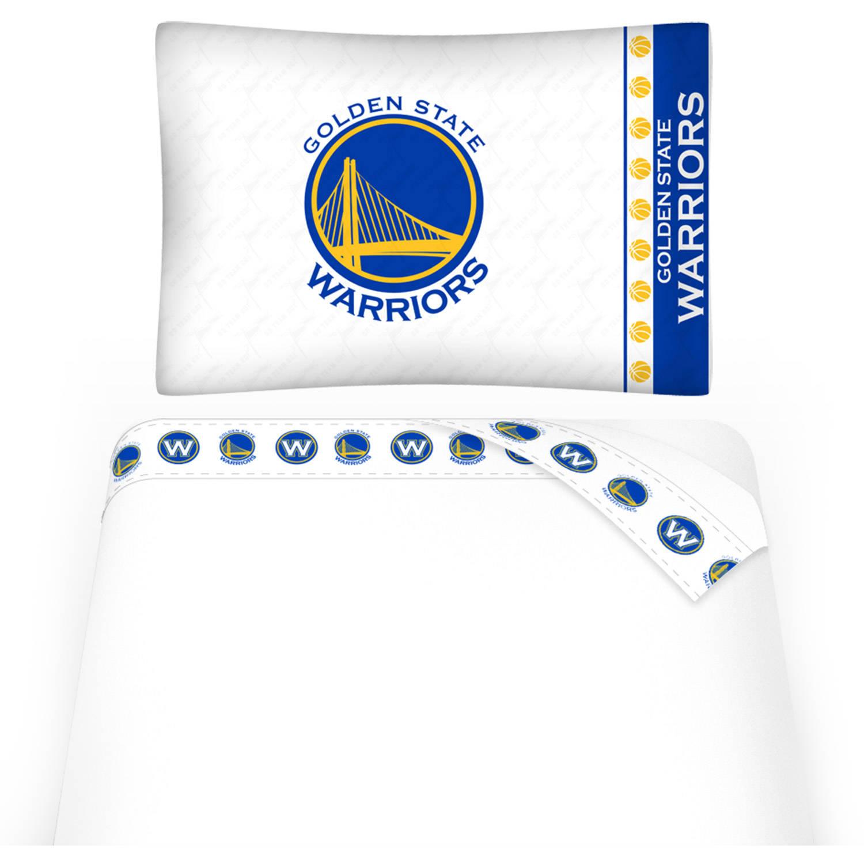 NBA Golden State Warriors Micro Fiber Sheet Set