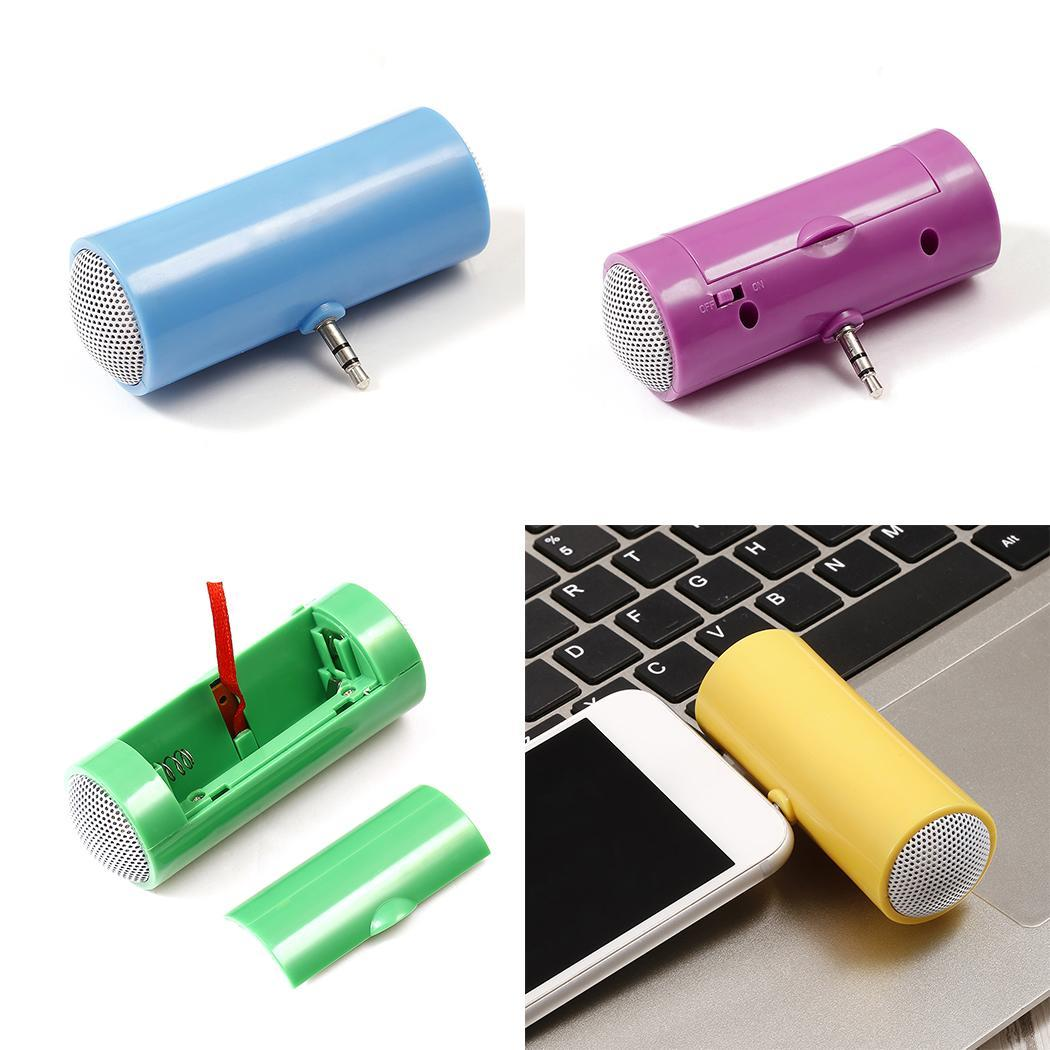 3.5mm Jack Portable Mini Speakers  for Phone iPad Laptop 6 Colors